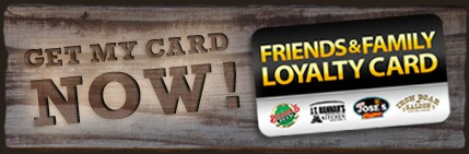 Click here to get your Loyalty Card and start saving!