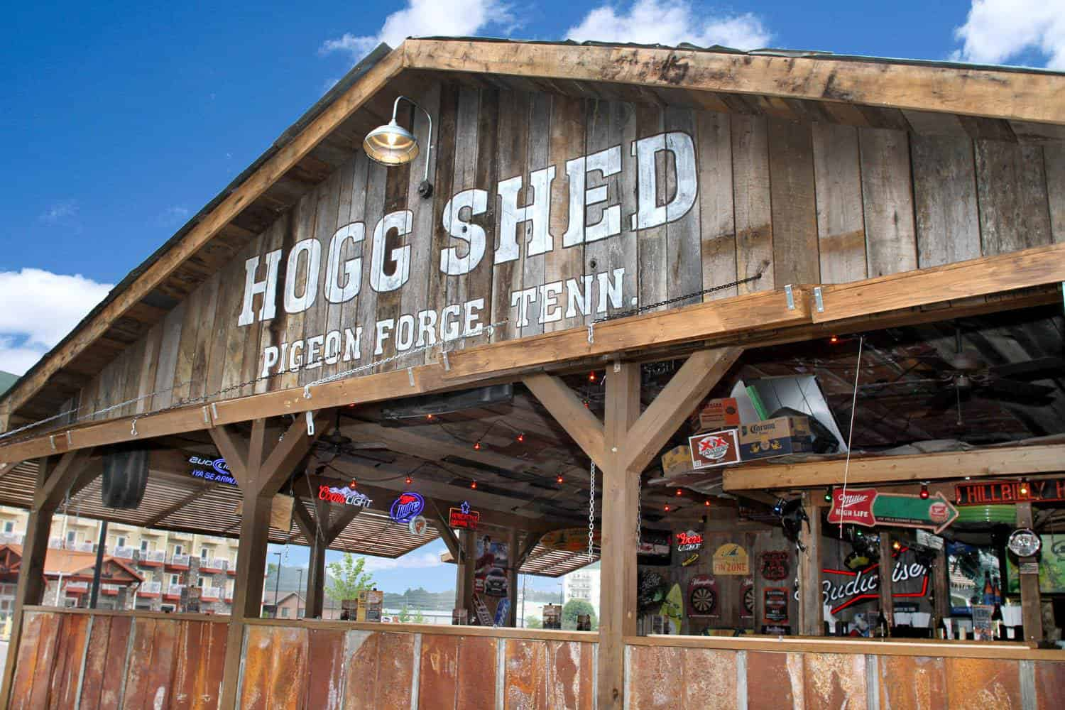 Hogg Shed at Iron Boar Saloon